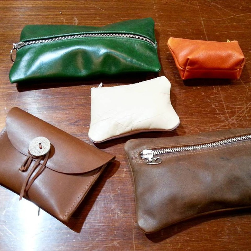 Basic Leather Accessories Workshops offered by Rose-Anne Russell. Barossa SA.